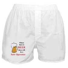 Saw Operator Boxer Shorts