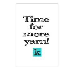 Time for More Yarn Postcards (Package of 8)