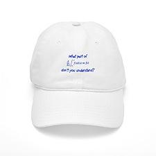Calc Eq Blue Baseball Cap