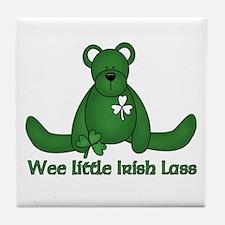 Wee little Irish Lass Tile Coaster