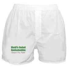 World's Coolest Czechoslovakian Boxer Shorts