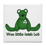Wee little Irish Lad Tile Coaster