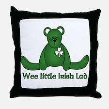Wee little Irish Lad Throw Pillow