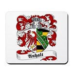 Anhalt Family Crest Mousepad