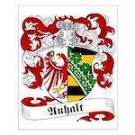 Anhalt Family Crest Small Poster