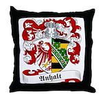Anhalt Family Crest Throw Pillow