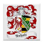 Anhalt Family Crest Tile Coaster