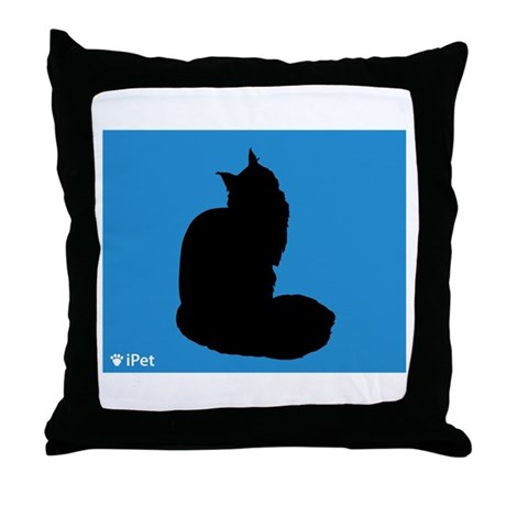Maine Coon iPet Throw Pillow