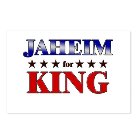 JAHEIM for king Postcards (Package of 8)