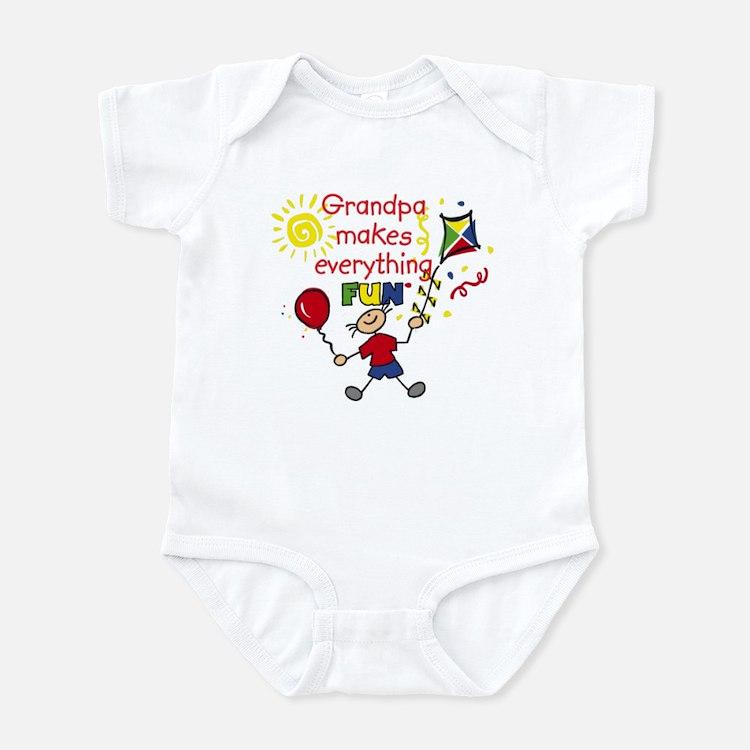 Grandpa Fun Boy Infant Bodysuit