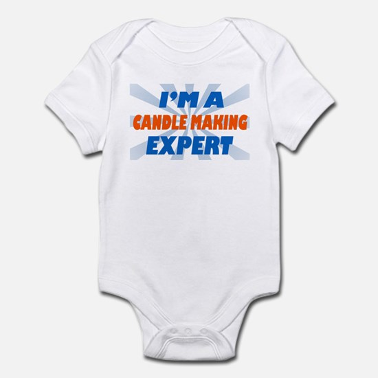 Im a candle making expert Infant Bodysuit