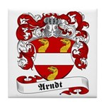 Arndt Family Crest Tile Coaster