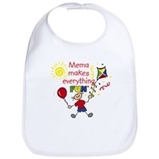 MeMa Fun Boy Bib