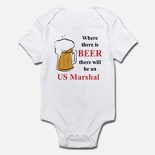 US Marshal Infant Bodysuit