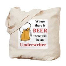 Underwriter Tote Bag