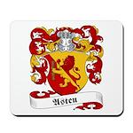 Asten Family Crest Mousepad