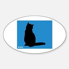 Shorthair iPet Oval Decal