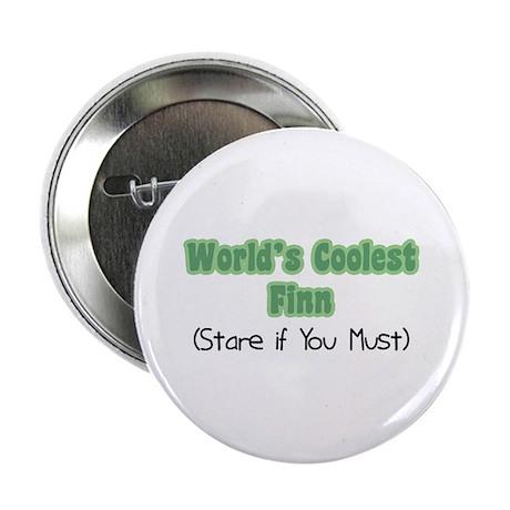 """World's Coolest Finn 2.25"""" Button"""