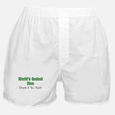World's Coolest Finn Boxer Shorts