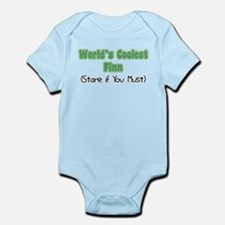 World's Coolest Finn Infant Bodysuit