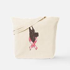 CBlk Pink Ribbon Tote Bag