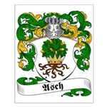 Asch Family Crest Small Poster