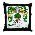 Asch Family Crest Throw Pillow