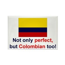 Perfect Colombian Rectangle Magnet