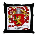 Astner Family Crest Throw Pillow