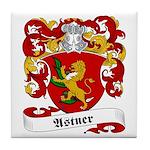 Astner Family Crest Tile Coaster