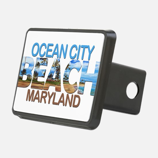 Summer ocean city- marylan Hitch Cover