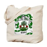 Bader Family Crest Tote Bag