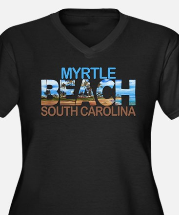 Summer myrtle beach- south carol Plus Size T-Shirt
