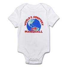 World's Greatest Air M.. (F) Infant Bodysuit
