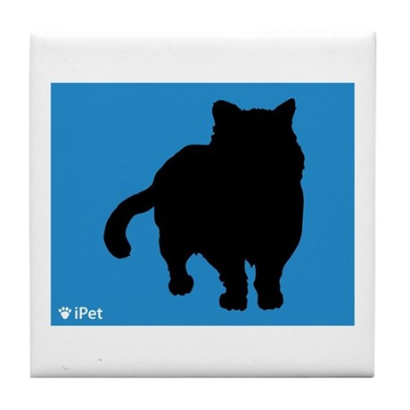 Shorthair iPet Tile Coaster