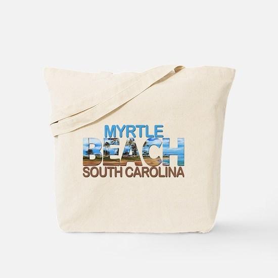 Summer myrtle beach- south carolina Tote Bag