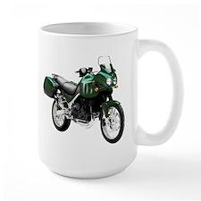 Triumph Tiger Motorbike Dark Green Mug