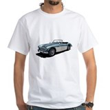 Austin healey Mens White T-shirts
