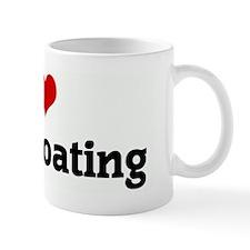 I Love Motorboating Mug