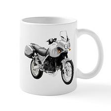 Triumph Tiger Motorbike Gray Small Small Mug