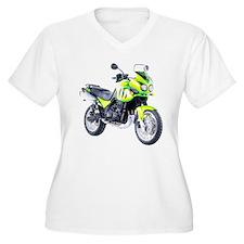 Triumph Tiger Motorbike Light Green T-Shirt
