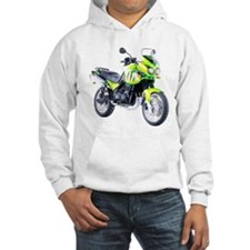 Triumph Tiger Motorbike Light Green Hoodie