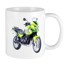 Triumph Tiger Motorbike Light Green Mug