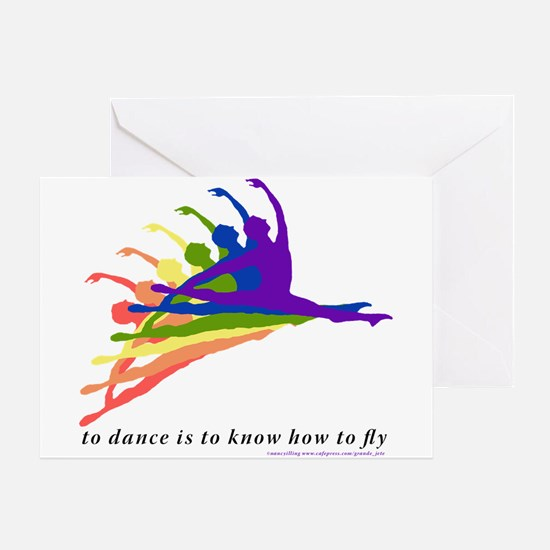 Grande Jete Birthday Card