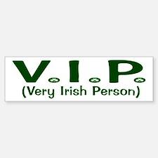 VIP Bumper Car Car Sticker