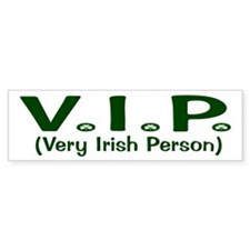 VIP Bumper Car Sticker
