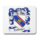 Ballinger Family Crest Mousepad