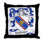 Ballinger Family Crest Throw Pillow