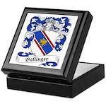 Ballinger Family Crest Keepsake Box