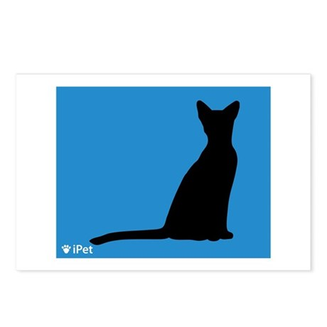 Abyssinian iPet Postcards (Package of 8)